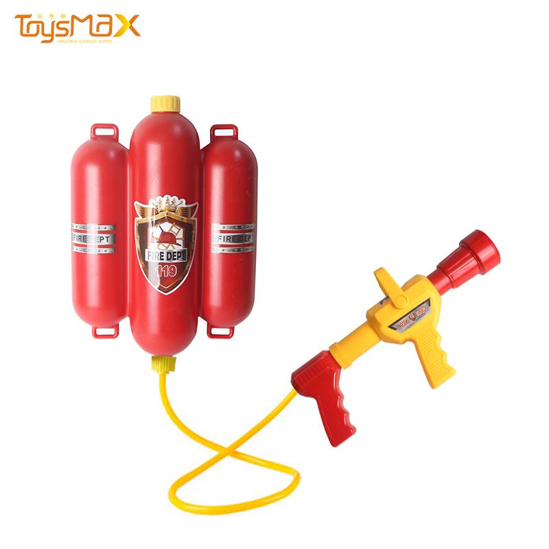 Wholesale Outdoor Game Toys Fireman backpack Water Gun Summer Beach Toys