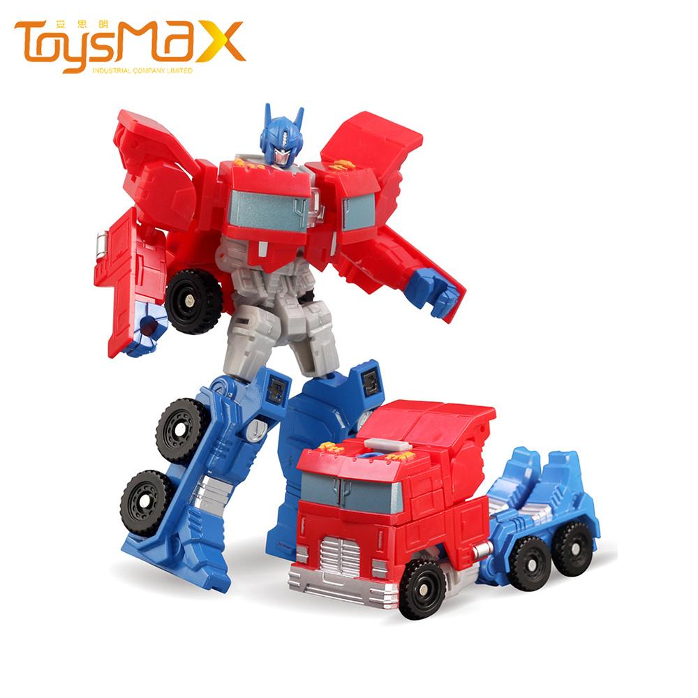 Wholesale Kids Transform Robot Car Toys 2 In 1 Chassis Transformation Toys Robot Model Toys Robot Car For Kids