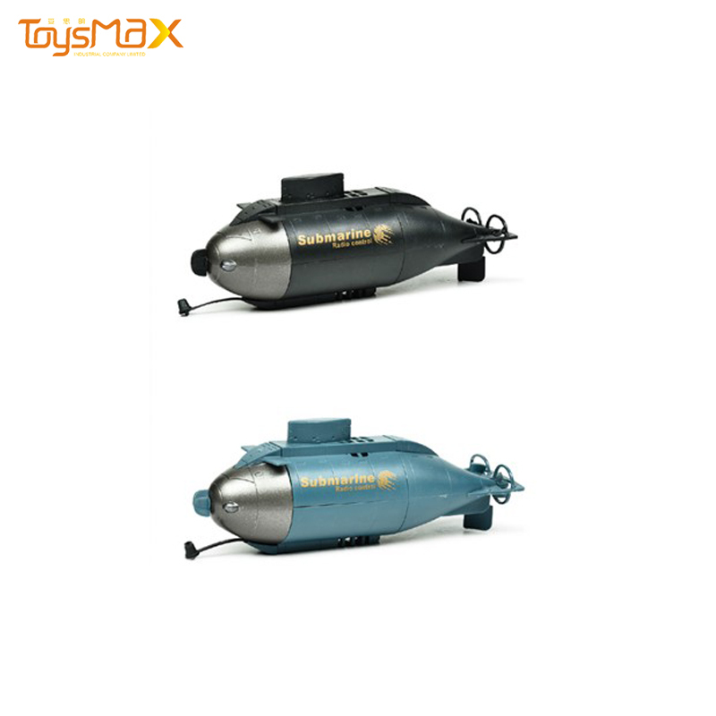 6 Channel remote control, rc submarine toy with window box