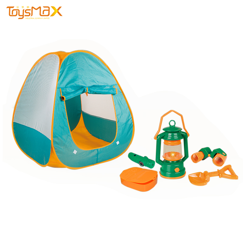 Amazon Best Selling Assemble Kids Camping Tent Set For Outdoor Or Indoor
