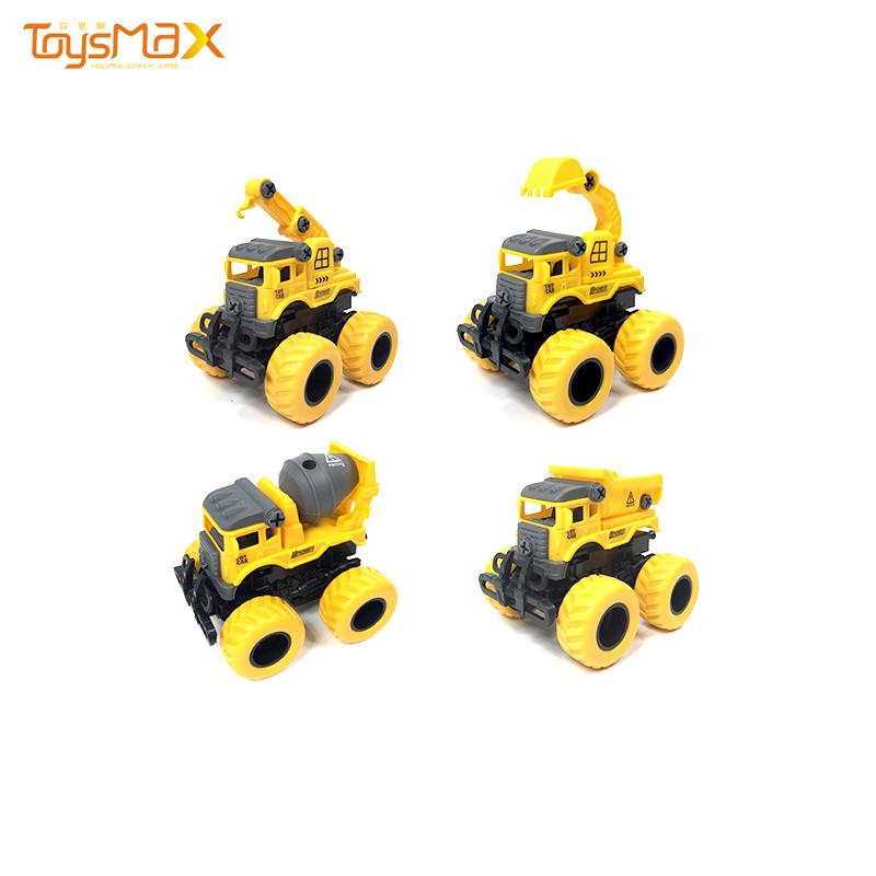 12 pcs Educational Toy Vehicle Construction Truck DIY Assemble Toy