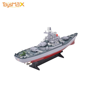 Best Quality 1:250 Remote Control Military Rc Battleship Toys Pirate Boat