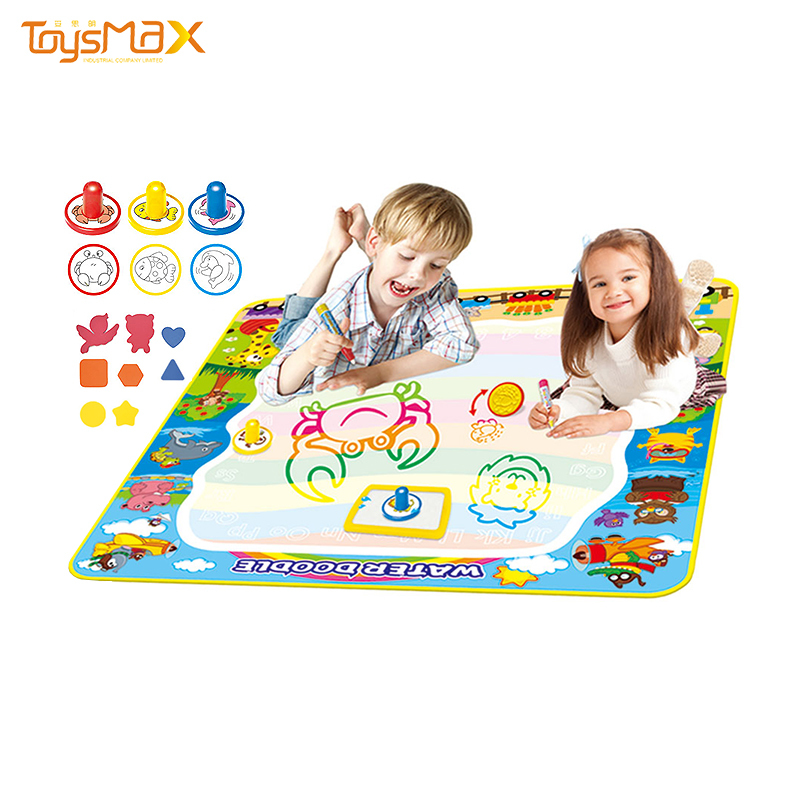 Factory Direct Aqua Drawing Mat Large Doodle Water Drawing Mat For Kids Educational Toy