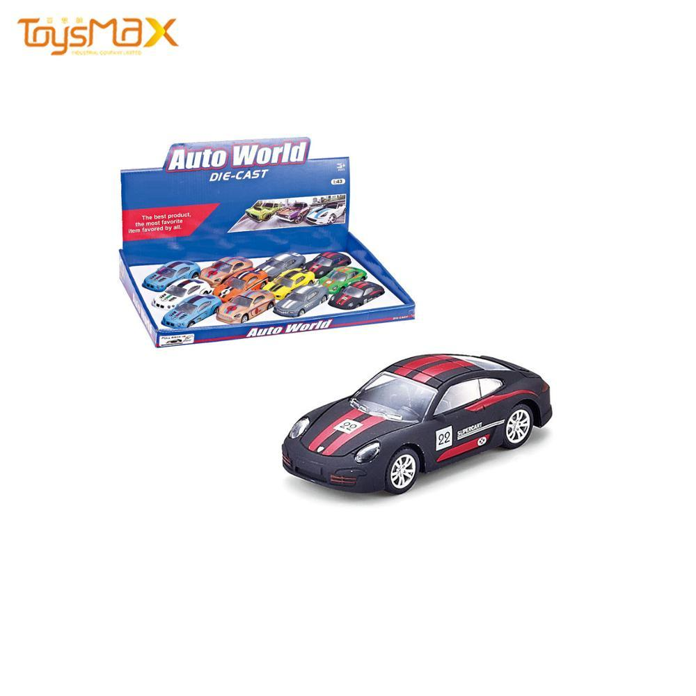 Children 1:43 Alloy Pull Back Sports Car Diecast Toy