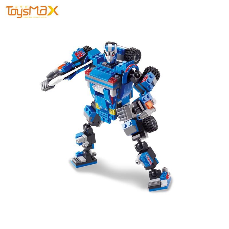 New Educational Robot Plastic Building Block Toy