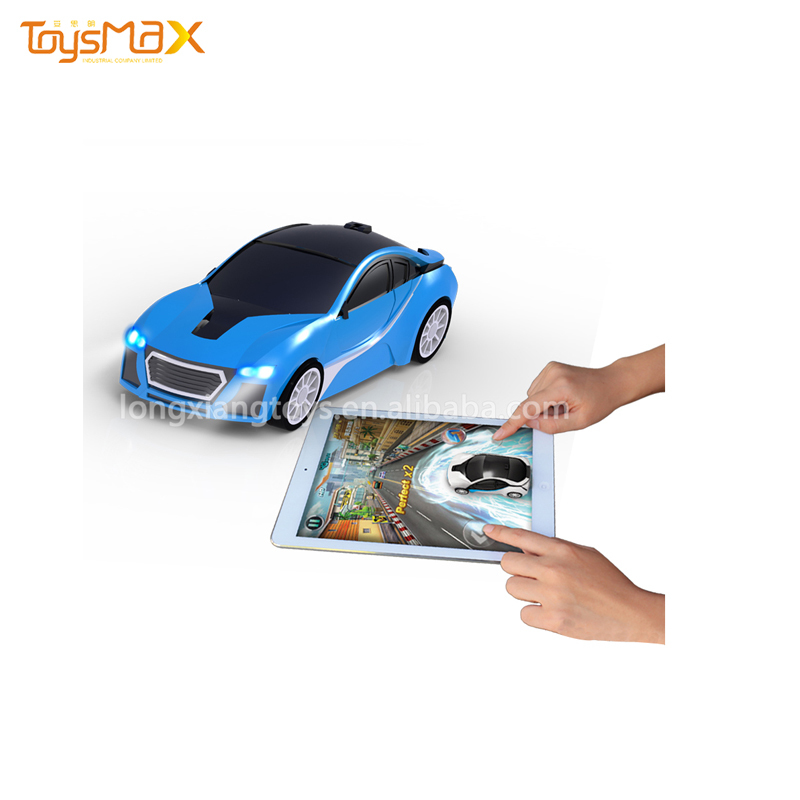 Promotional New Style ABS Intelligent Rechargeable Miniature Toy Car Pocket Racing Car for pad