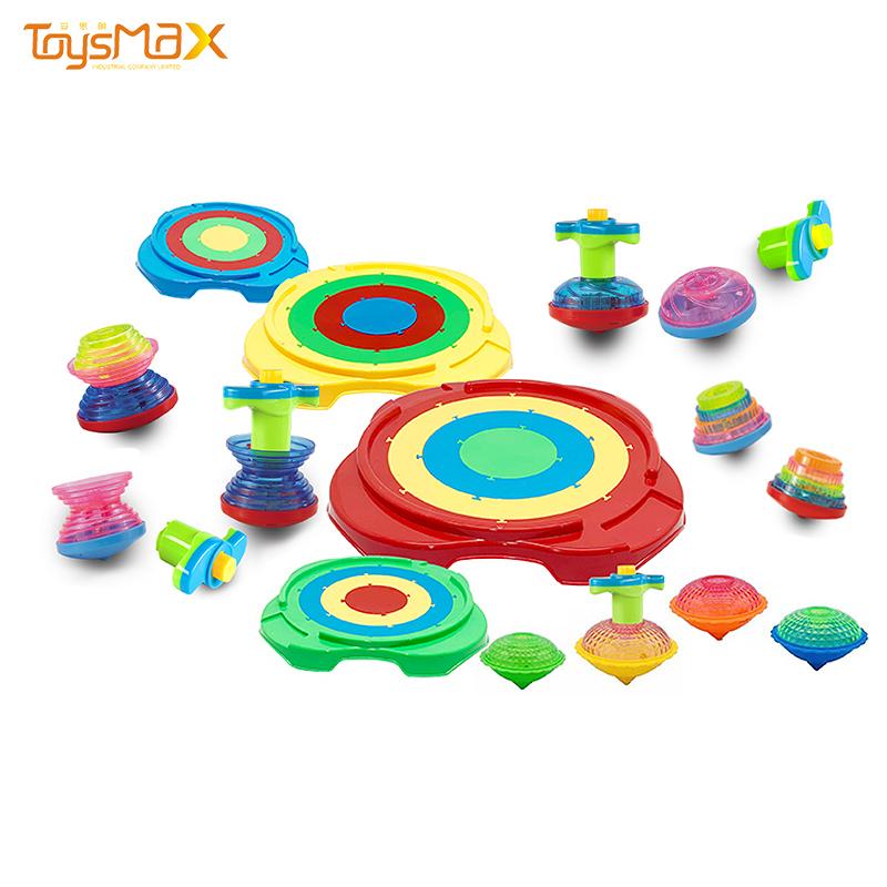 Christmas Favors Spin Toys Flashing Gyroscope Top Gyro