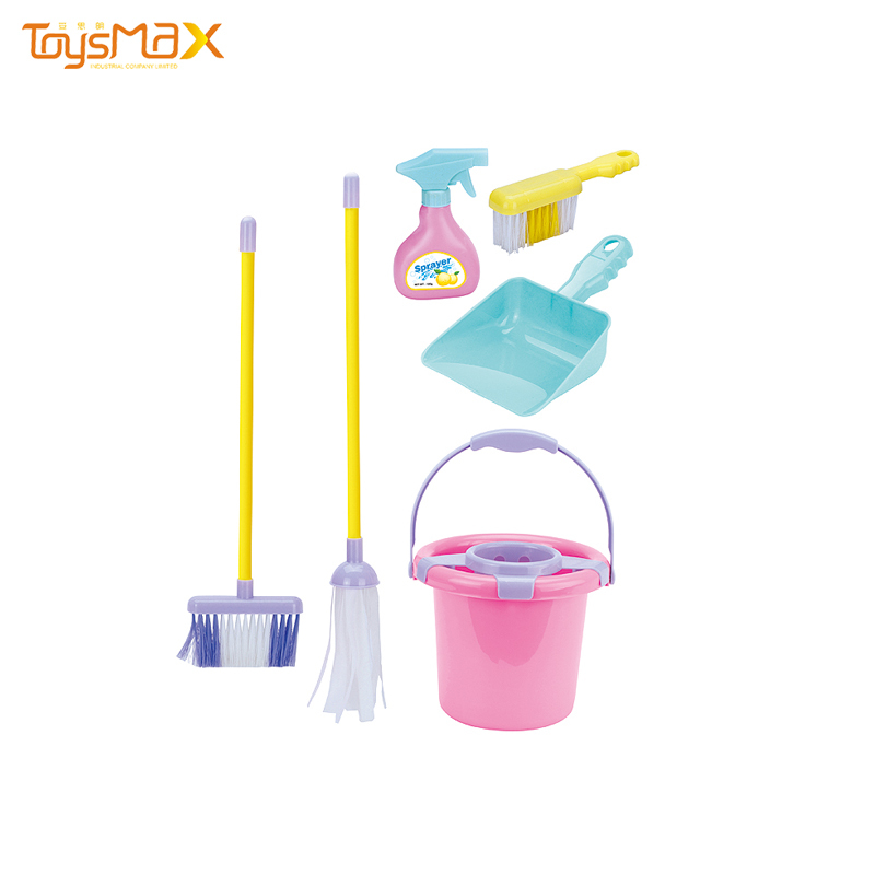 Kids Pretend Play Cleaning Tool Toys Cleaning Toy