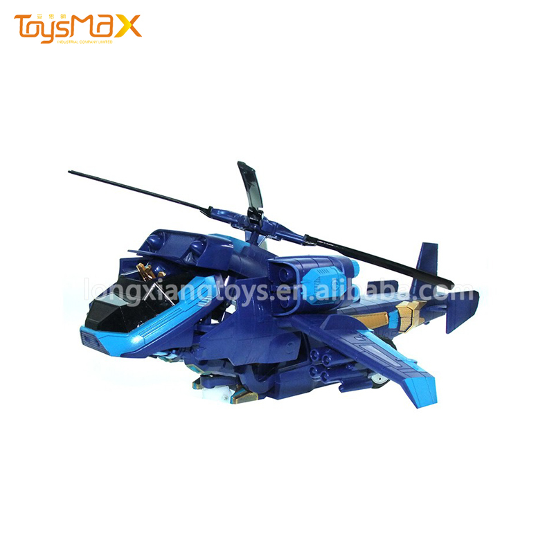 1:14 remote control airplane deformation robot toy with one-key transform