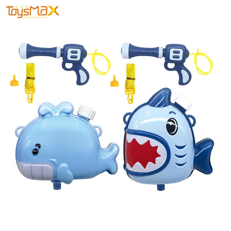 Most popular new style summer toys children's cartoon backpack water gun
