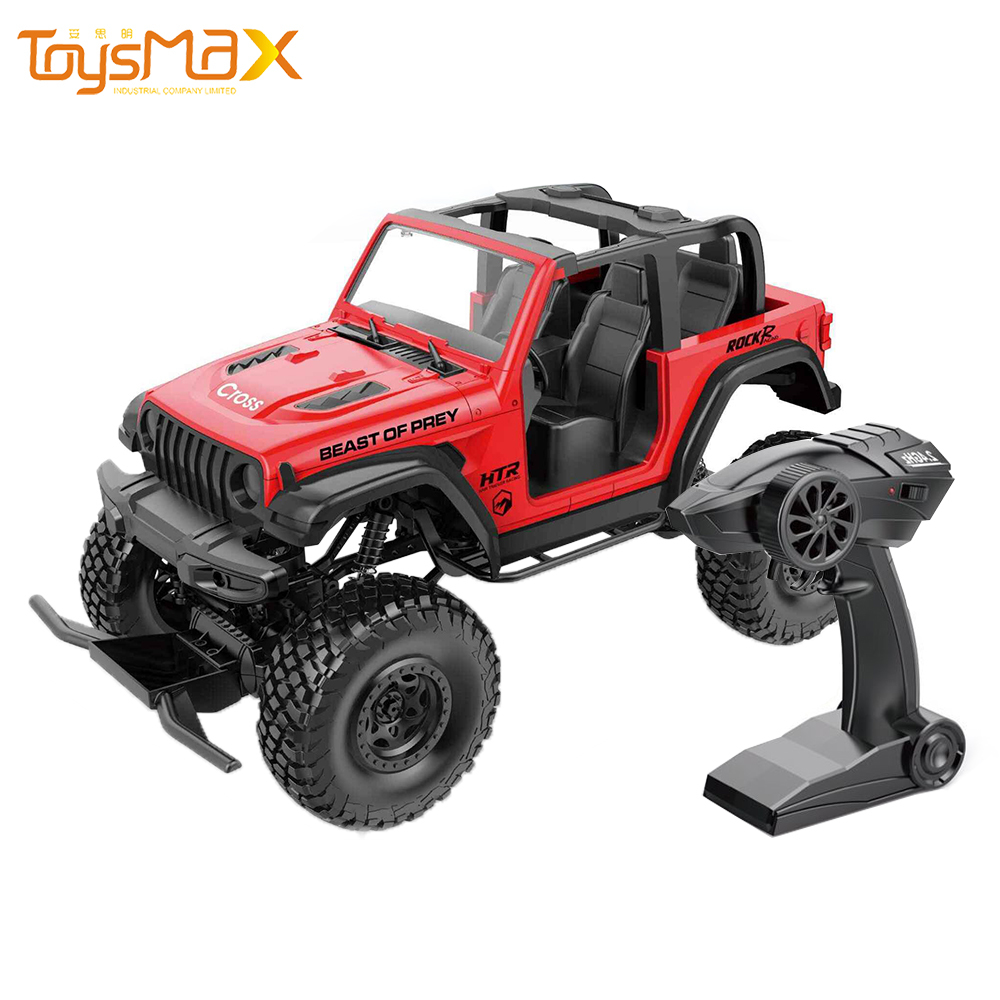 2021 New Toys 2.4G 4WD 1/8 Remote Control Truck Vehicle Off Road Monster Cars RC Rock Crawler Car