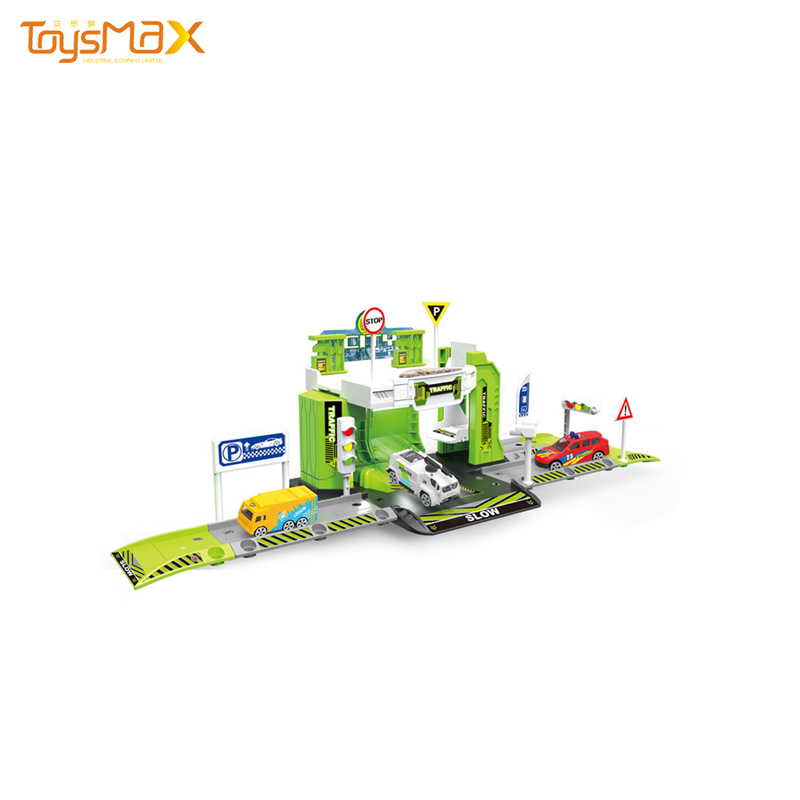 Top Quality Parking Lot Toy Play Set For Sale