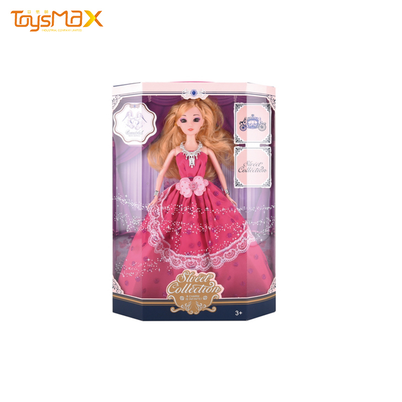Baby Doll 11 inch  Beauty  Girl Princess Reborn Silicone Doll  Vinyl Soft Toy