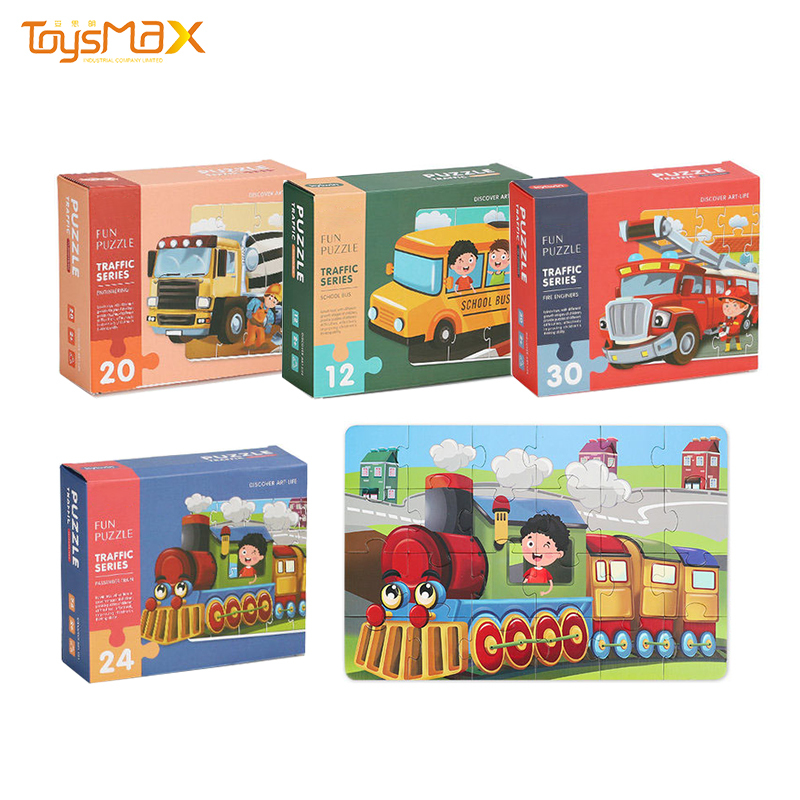 DIY play assembly educational toys puzzle books for kids