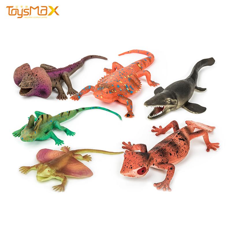 New Arrival Halloween Party Toy TPR Lifelike Simulation Lizard For Kids Joke Prank Toys
