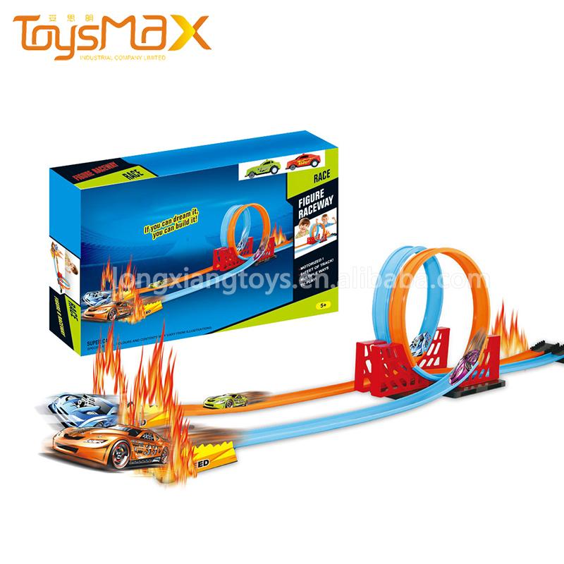 New Style Pull Back Wheels Magic Track Slot Toys