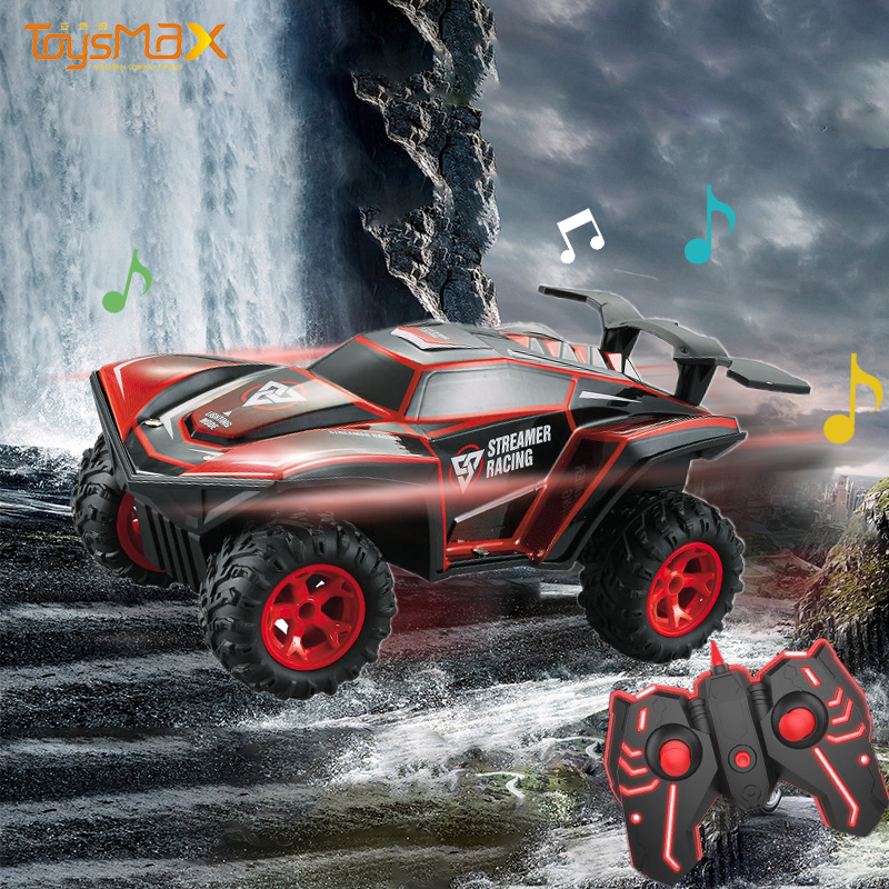 Amazon Hot Sale 2.4GHz 4WD RC Car 1:16 Radio Control Toys With Light And Music