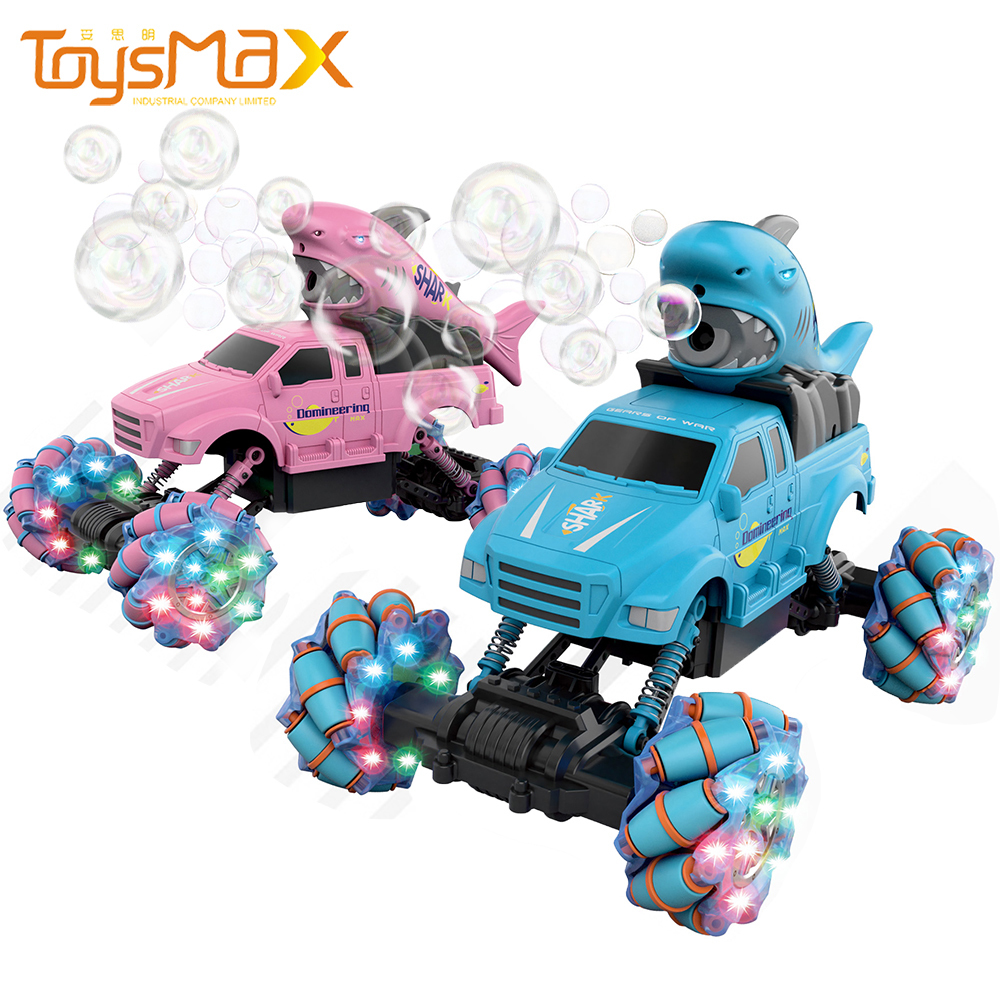 2021 New Arrival Multi-function Best 360 Degre Rotation RC Car Remote Cntrol Car With Blowing Bubbles