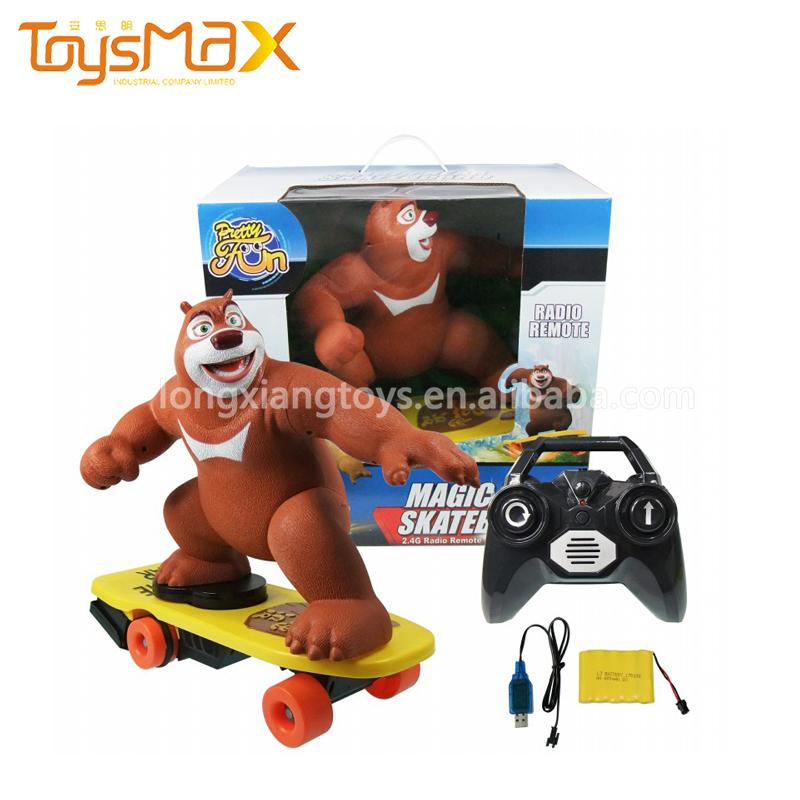 2.4ghz Electric Skateboard Remote Control Bear RC Magic Skateboard Toy