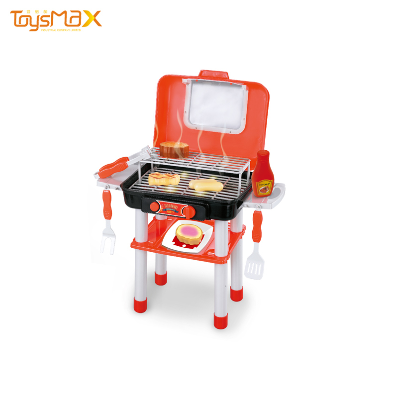 Children Outdoor Food Play Cooking Game Toy Kids BBQ Set Toy