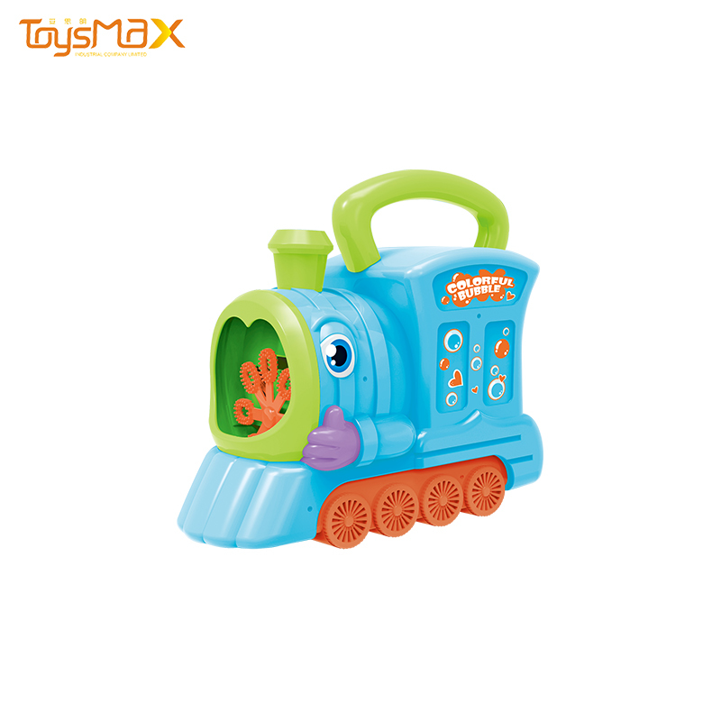 Summer Outdoor Toy Train Bubble Machine For Kids Bubble Toys
