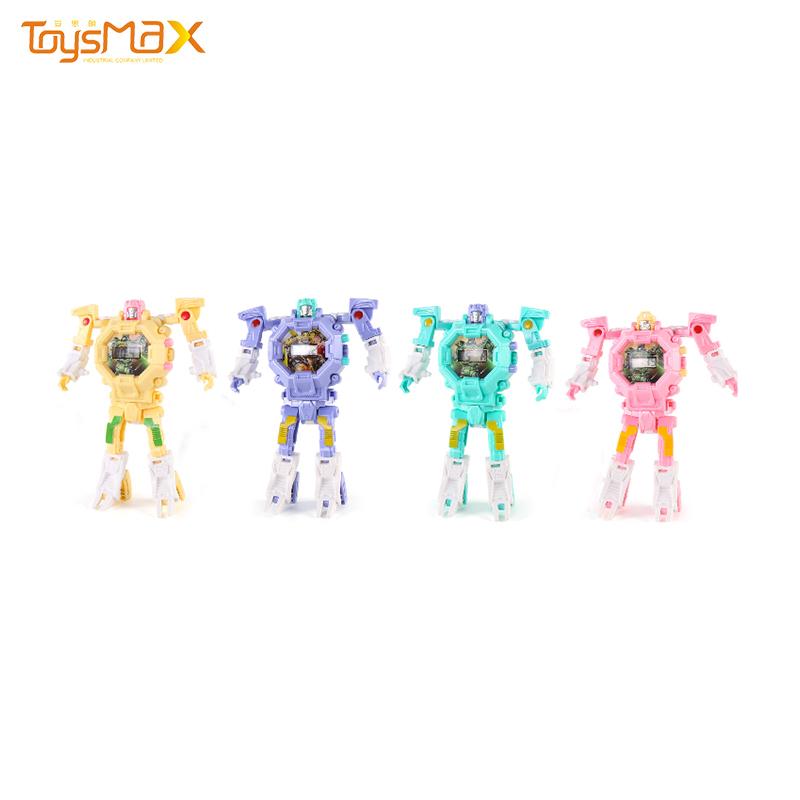 Funny gift Intelligent Digital Transform Toys kids robot watch