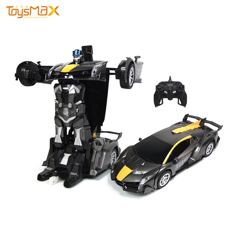 Transform Car Robot Deformation  2 in 1 RC Robot  Model Car Toys