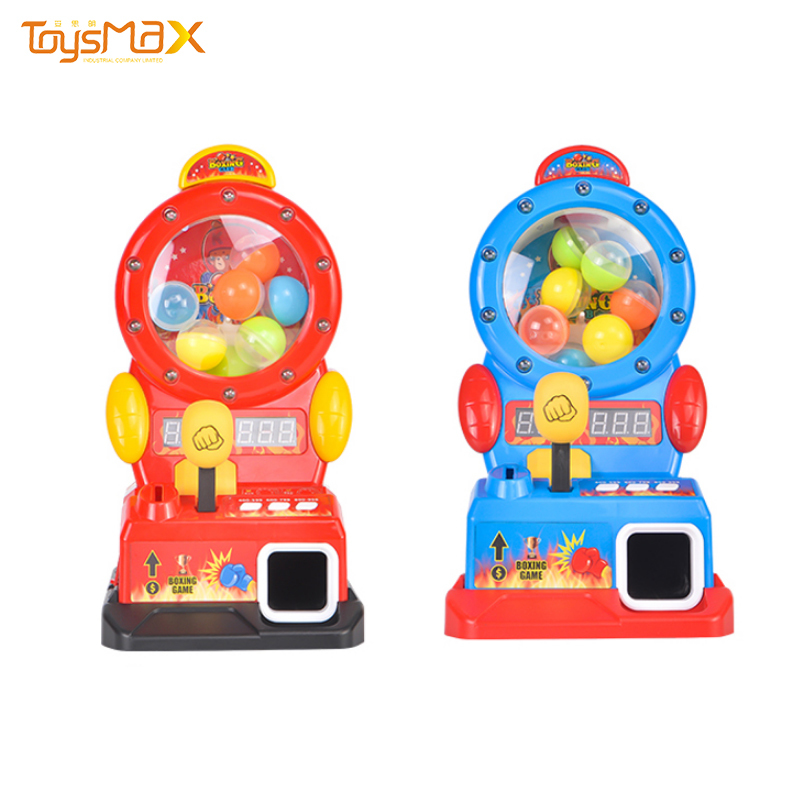 Wholesale kids desktop boxing game machine toy electric finger toy with sound and light