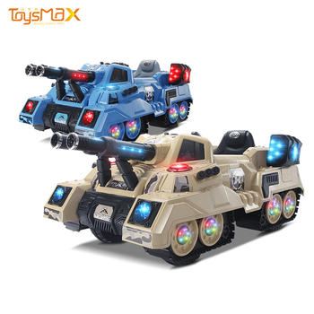 Children ride on cars plastic 12V remote control kids ride on tank