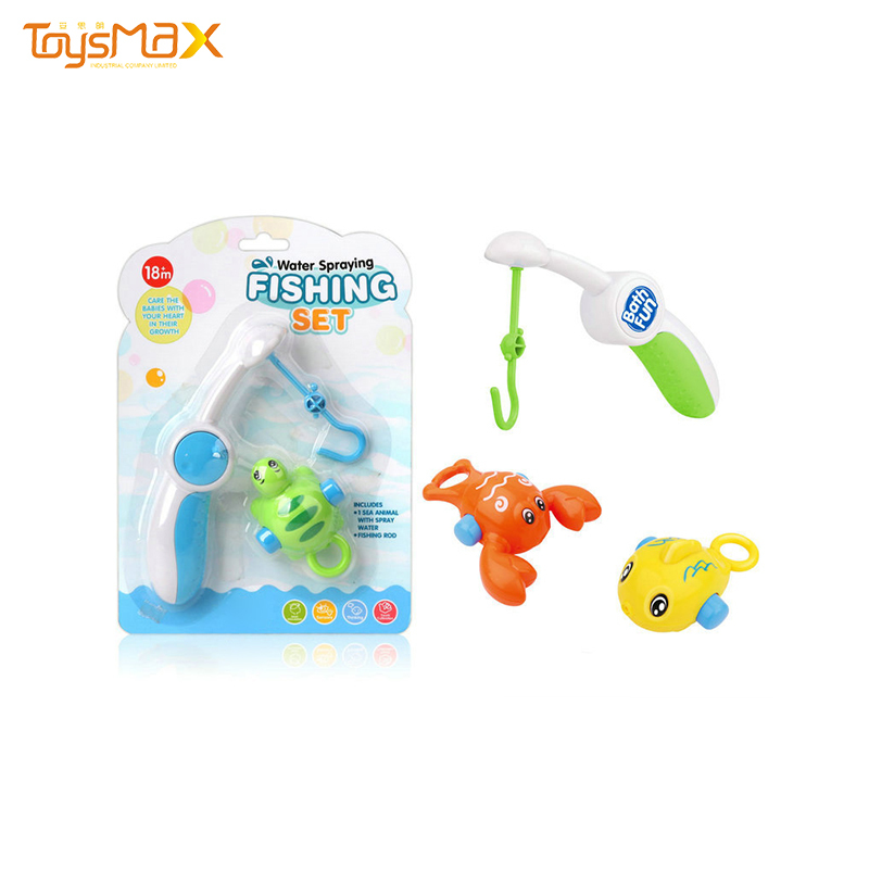 2019 New Kids Summer Outdoor Toys Fishing Game Toy  For Baby Bath Toys
