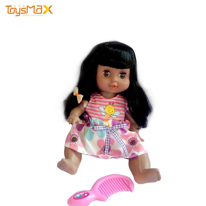 Amazon hot sale baby black doll cute black reborn dolls