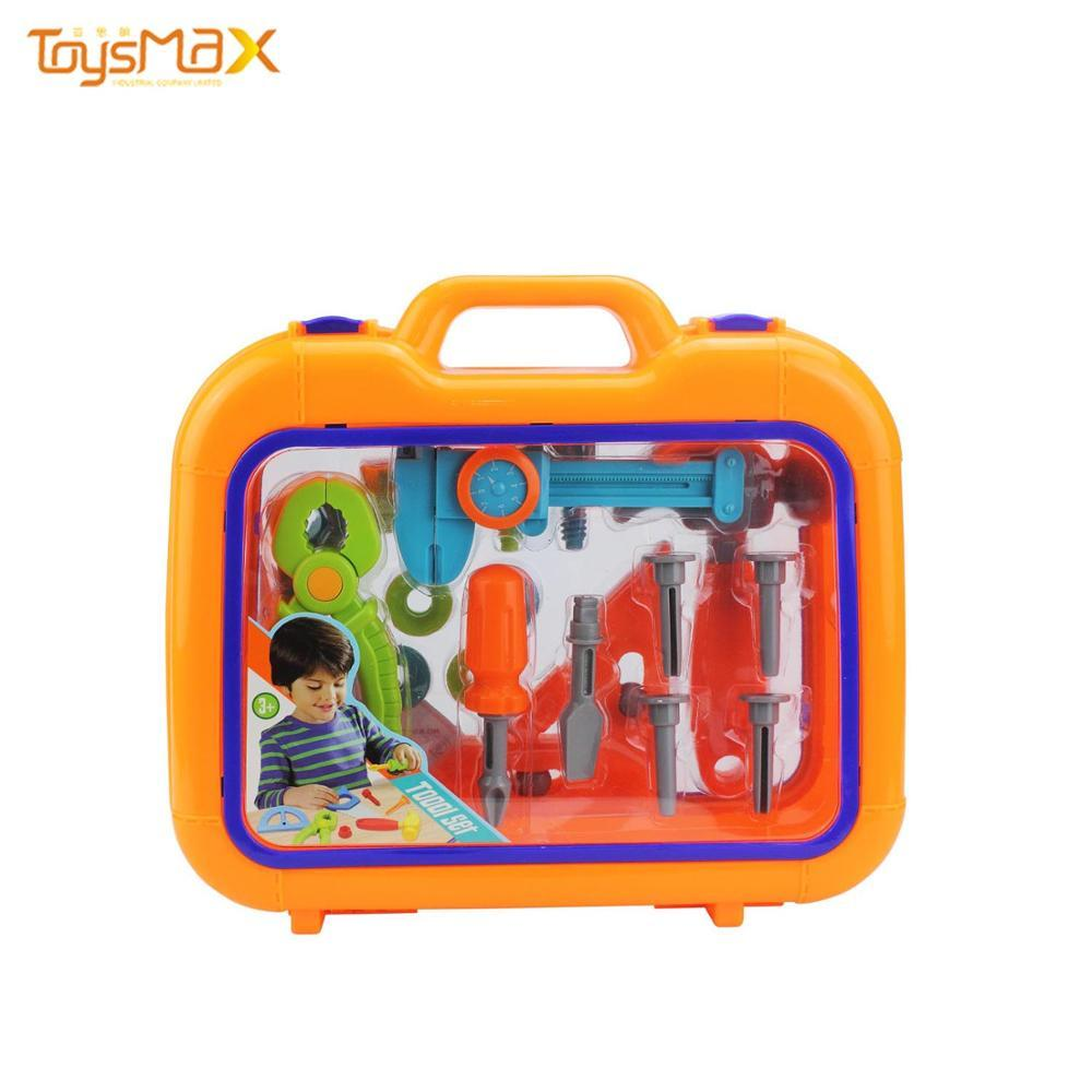 Kids Safely Plastic Tool Box Garden Tool Set   Toy For Pretend Game