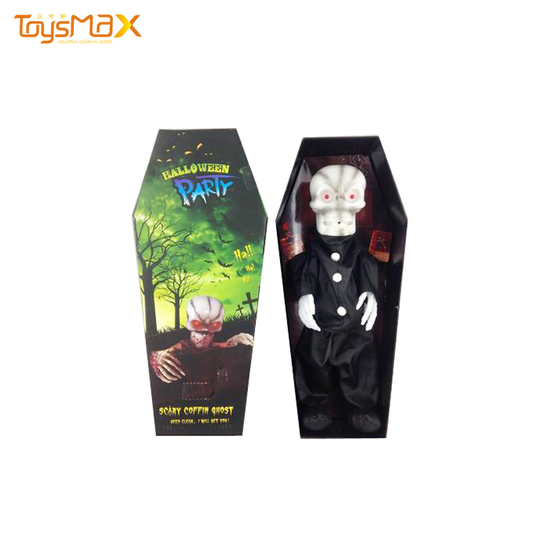 new items Halloween Decorate Light Coffin Ghost
