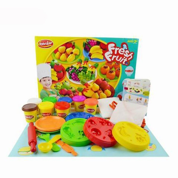 Most popular China Polymer Clay Educational Kids Color Fruit Model