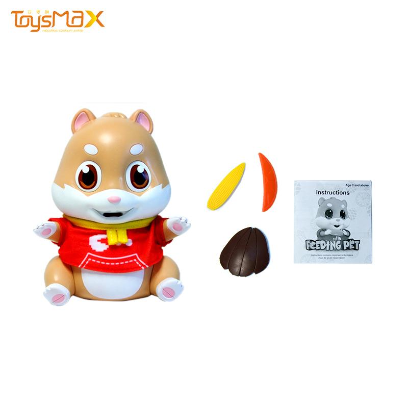 New Cute Feeding Animal Touch Sensing Feeding Pet Mouse Toys