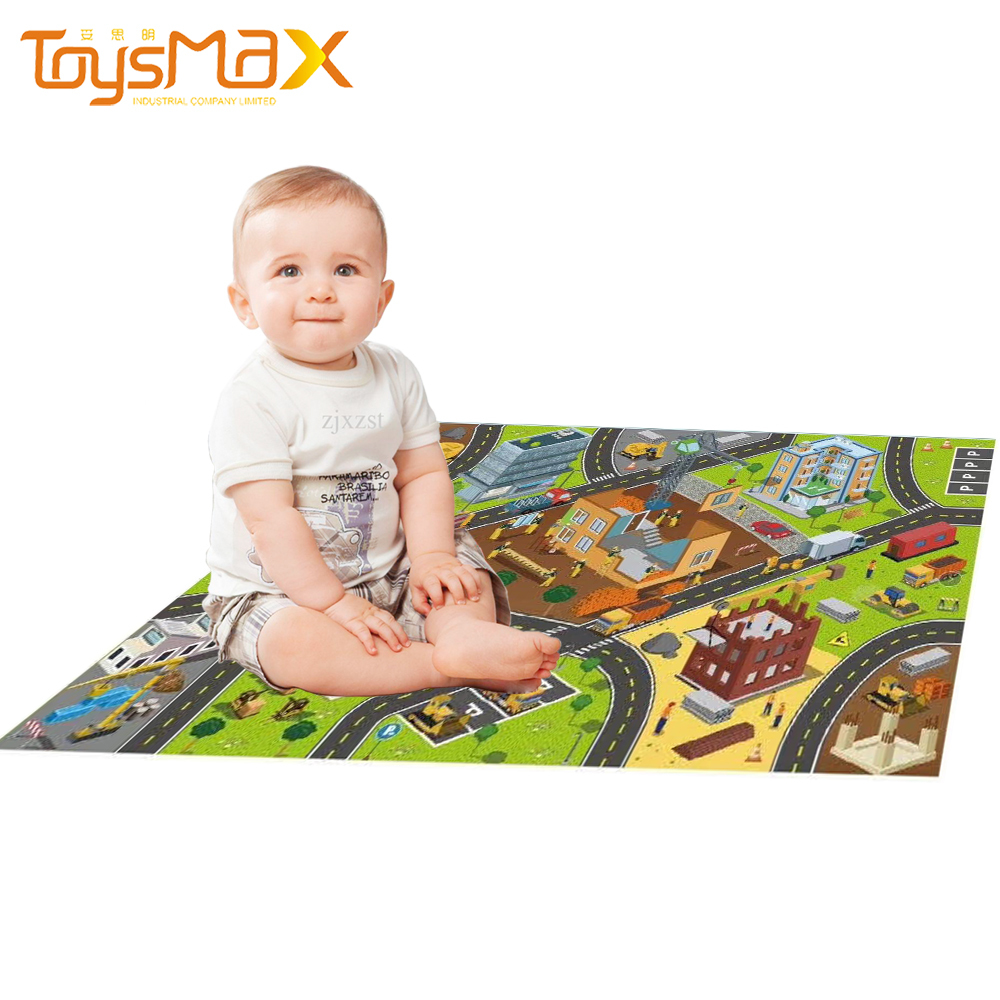 2021 High Quality Kids Play Mats Foldable Creeping Mats Multi-style Children's Crawling Mat