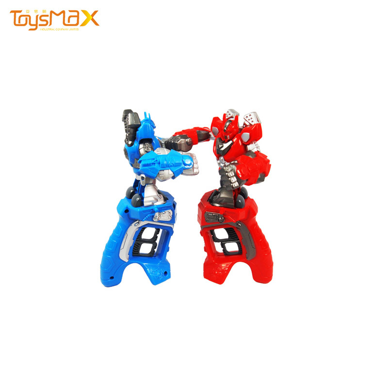 New Arrival  Kids Educational Competitive Finger Ring King Boxing Fighting Robot Kit Toy
