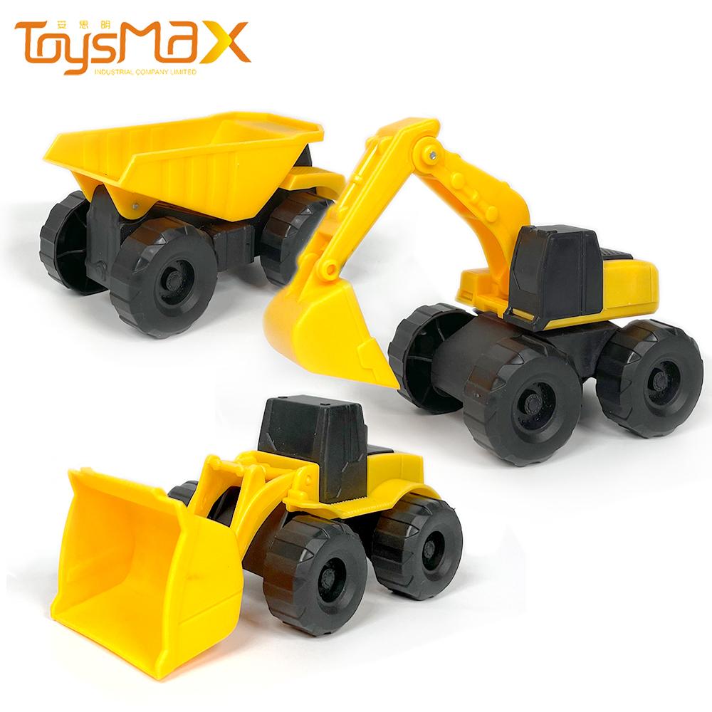 Construction Vehicle Series Model Toys Truck Toy Set Excavator Bulldozer Dump Truck Transportation Model Toys