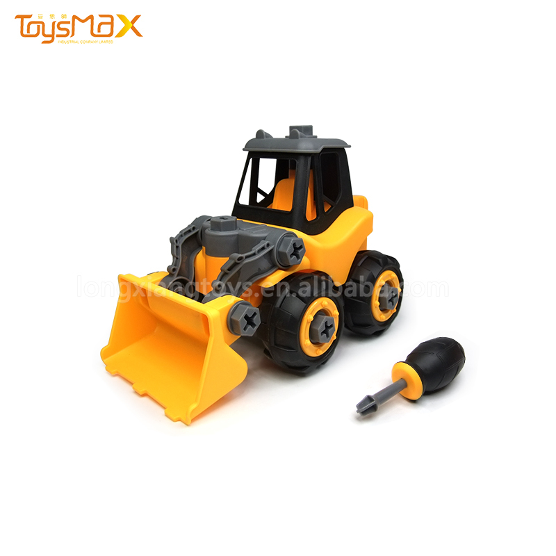 New Design Toy Car Assembly Kit Educational Plastic Building Blocks