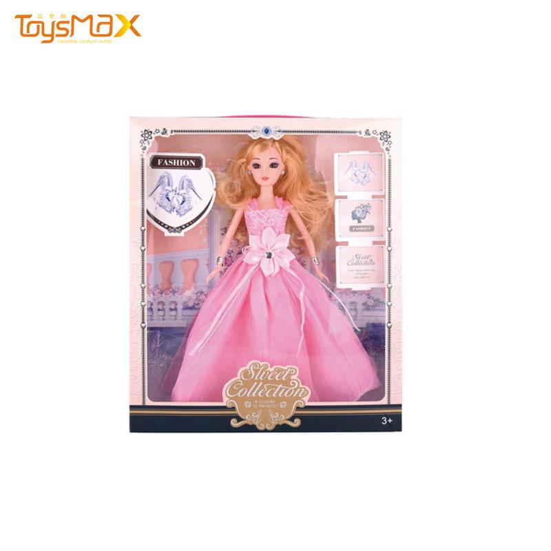 Vinyl Soft Toy 11 inch Fashion Princess Doll Reborn Silicone Baby Doll