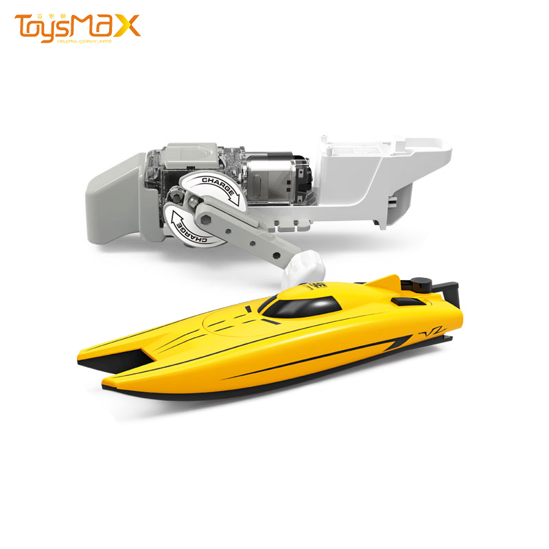 2020 New products creative electric hand-powered toy yacht