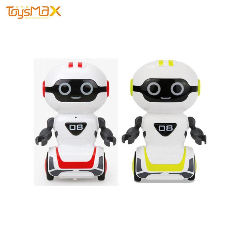 High Tech Intelligent Pocket Robot Interactive Touch Sensing Light Music Dancing Boys And Girls Toys
