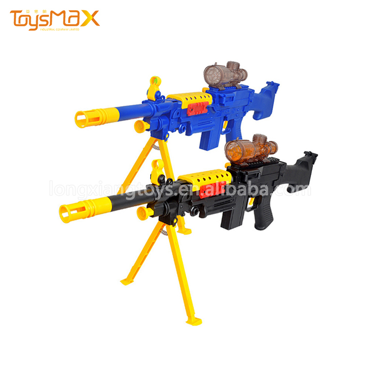 Best selling water bomb safe military fireworks toy gun with shooting equipment