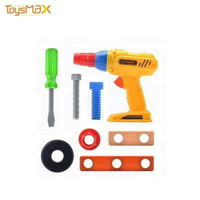 China Manufactory Garden Drill Tool Set Screw Accessories Toy For Kids