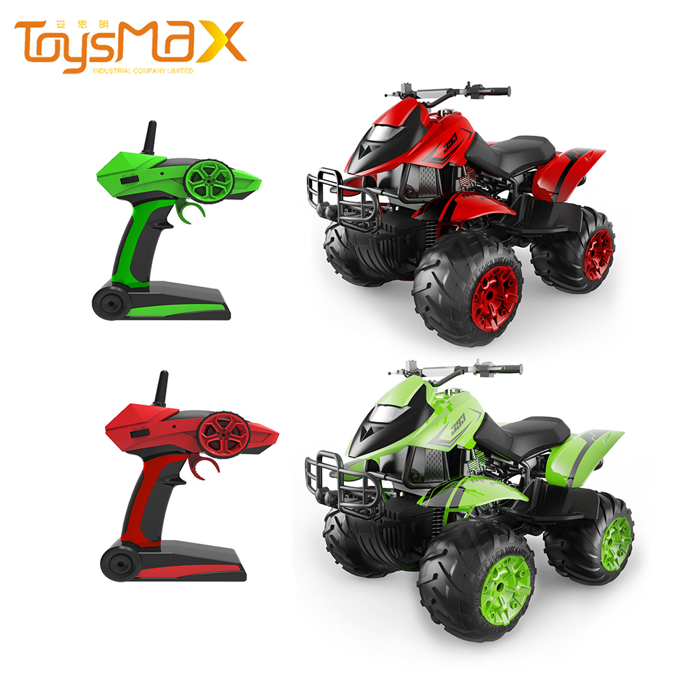 2.4GHZ 4WD 360 Degree Waterproof 1/12  Simulated Remote Control ATV Motorcycle RC Amphibious Stunt Car For Sale