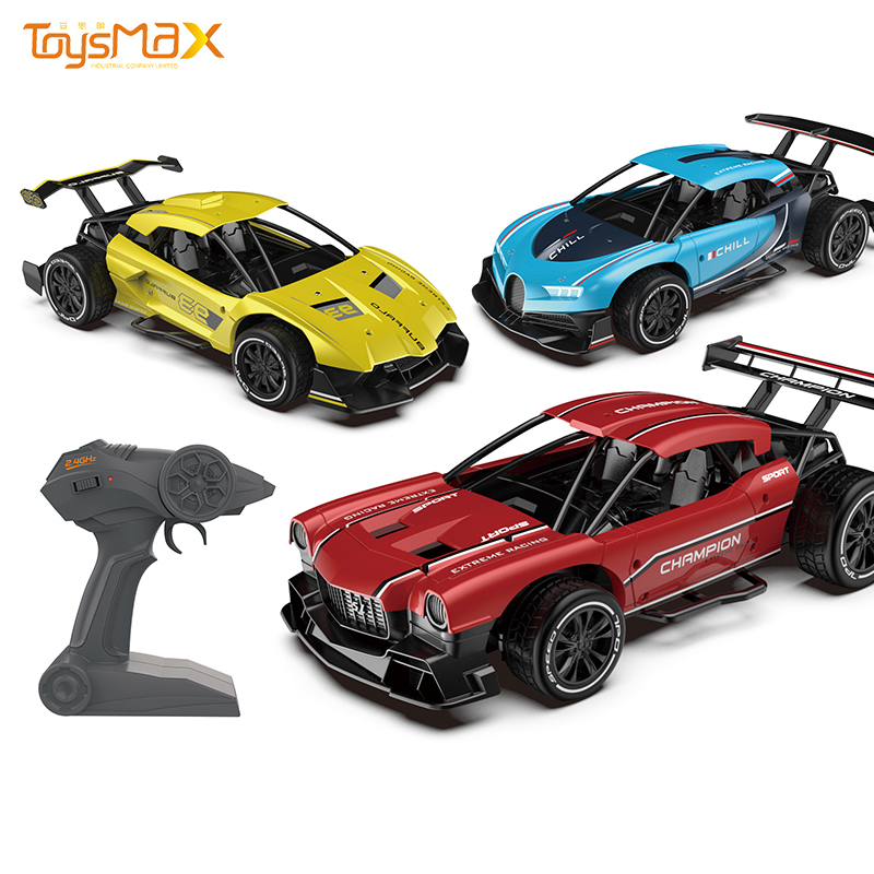 2.4GHz Alloy RC toys Speed 10-15km/h Remote Control Metal High Speed Car