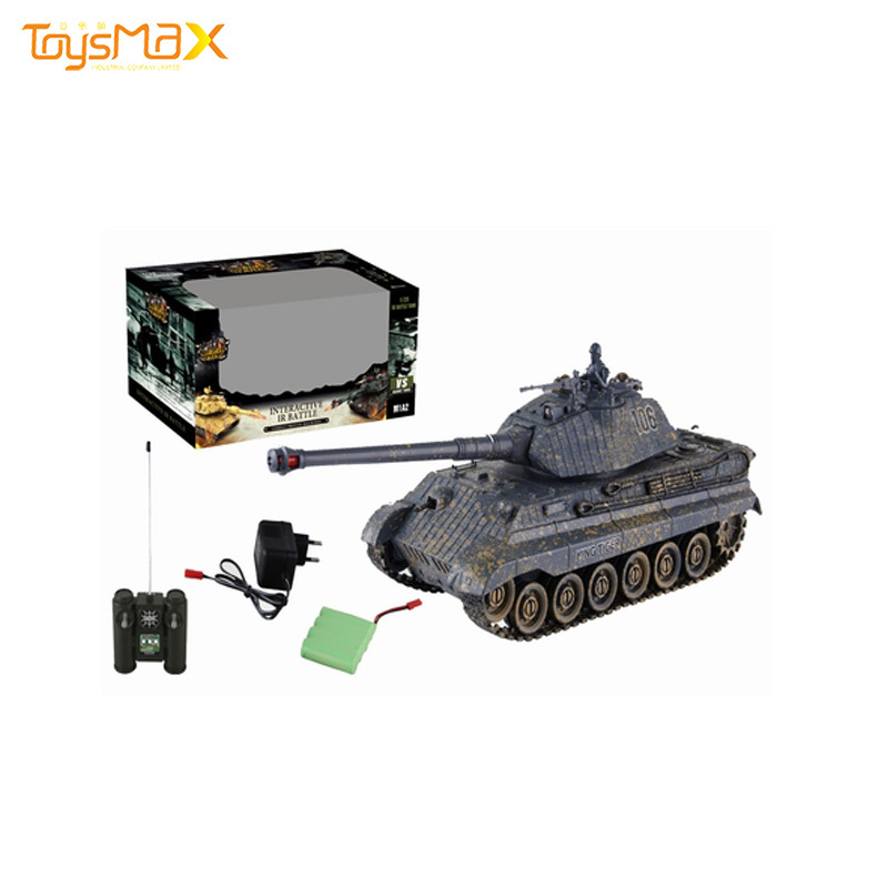 Hot China Products Wholesale Novel Unisex Infrared 40M German Tiger King Tank Amphibious Tank Remote Control