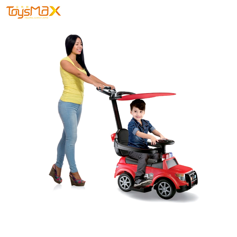 Kids ride on car multifunctional baby walker car with light and music
