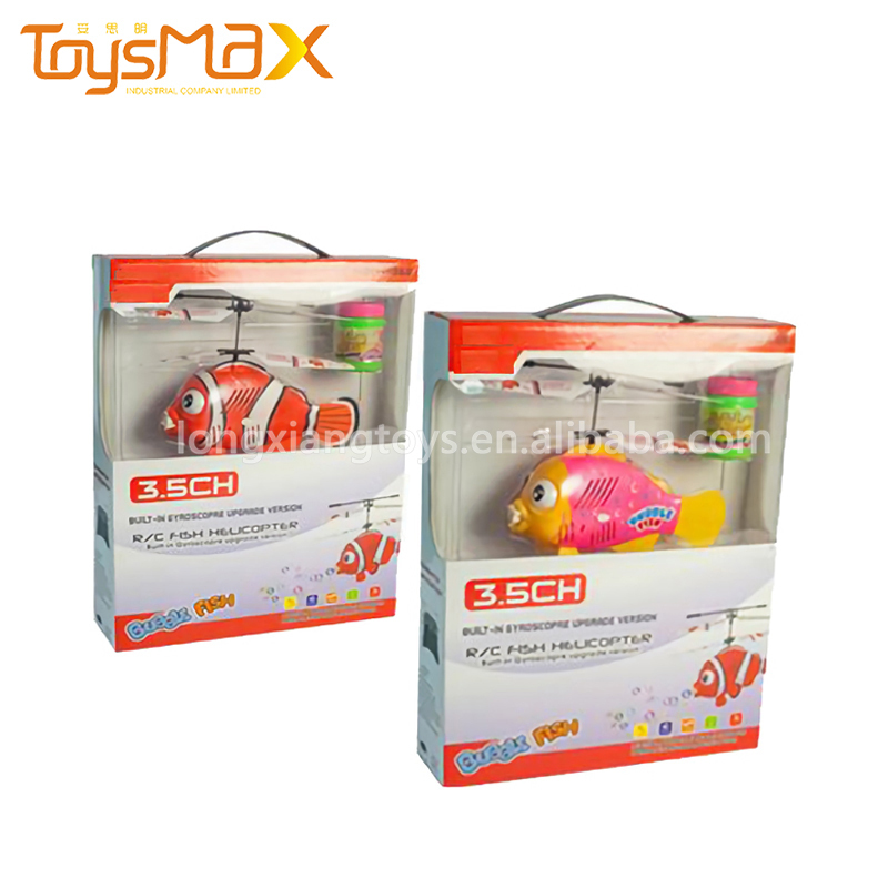 3.5ch remote control bubble flying fish