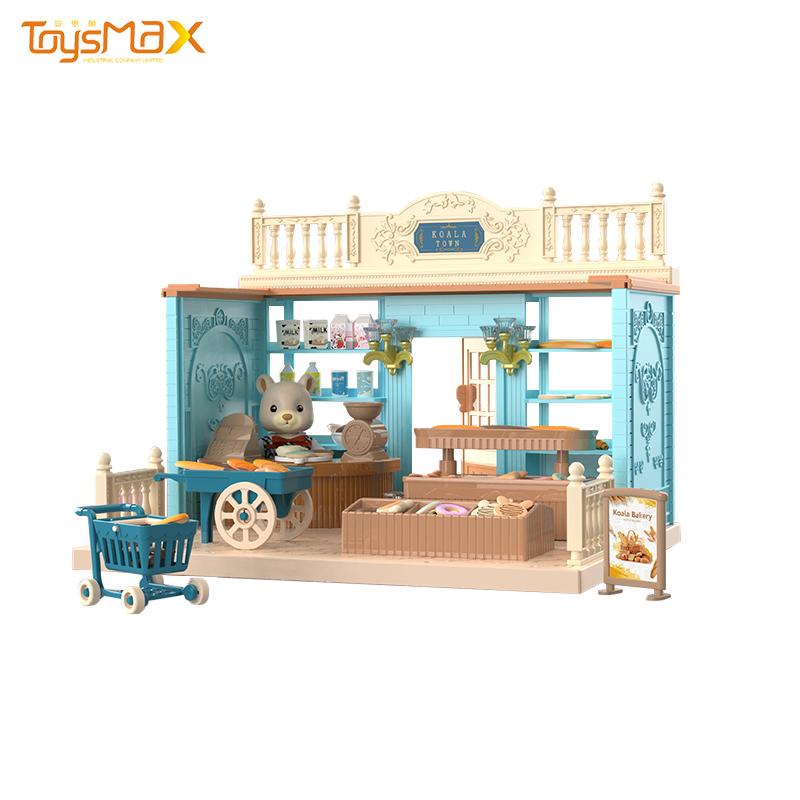 2020 New toy koala dream house DIY bakery play house for kids